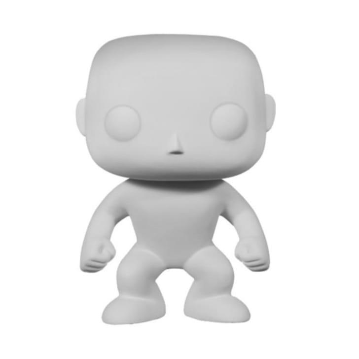 A blank Funko Pop! figure is pictured