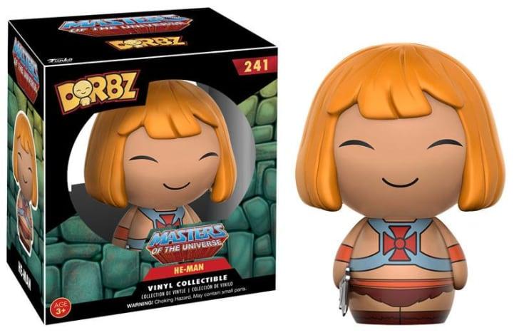 A Funko Dorbz figure of He-Man