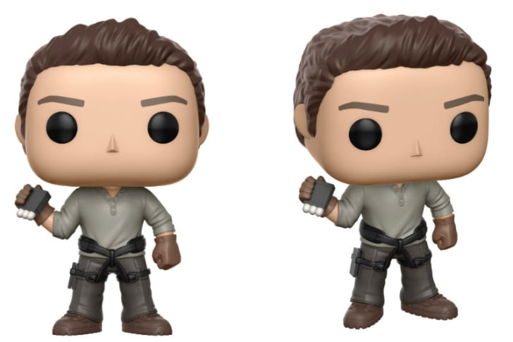 A Funko Pop! figure of Tom Cruise as Nick Morton from 'The Mummy'