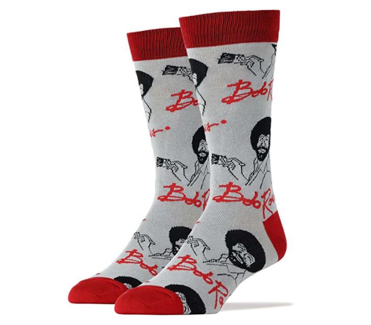 Bob Ross socks