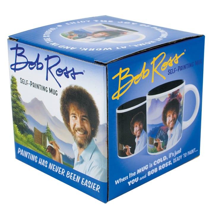 Bob Ross Heat Changing Mug