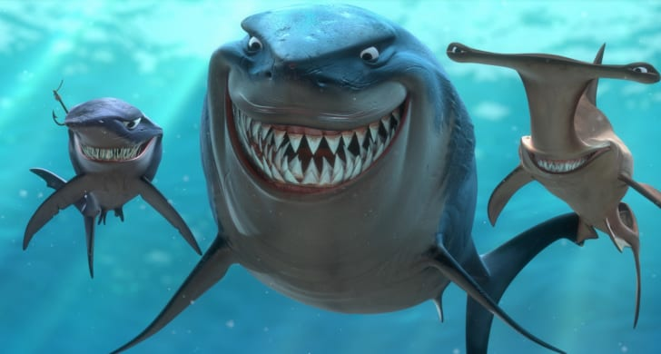 A scene from 'Finding Nemo' (2003)