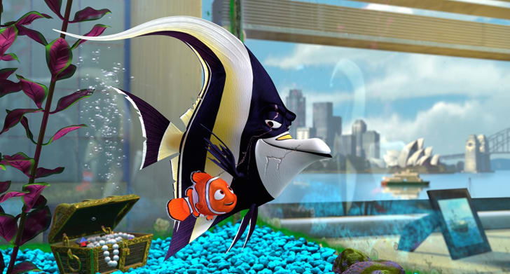 Willem Dafoe as Gill in 'Finding Nemo' (2003)