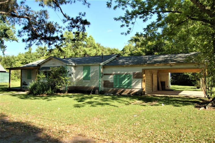 Robert Hicks's home in Bogalusa, Louisiana is listed on the National Register of Historic Places