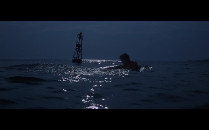 A scene from 'Jaws' (1975)
