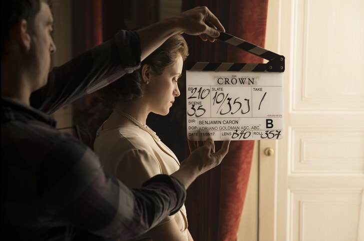 Claire Foy in 'The Crown'