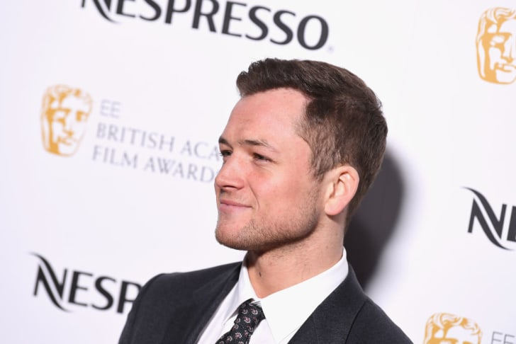 Taron Egerton attends the EE British Academy Film Awards (BAFTA) nominees party at Kensington Palace on February 17, 2018 in London, England