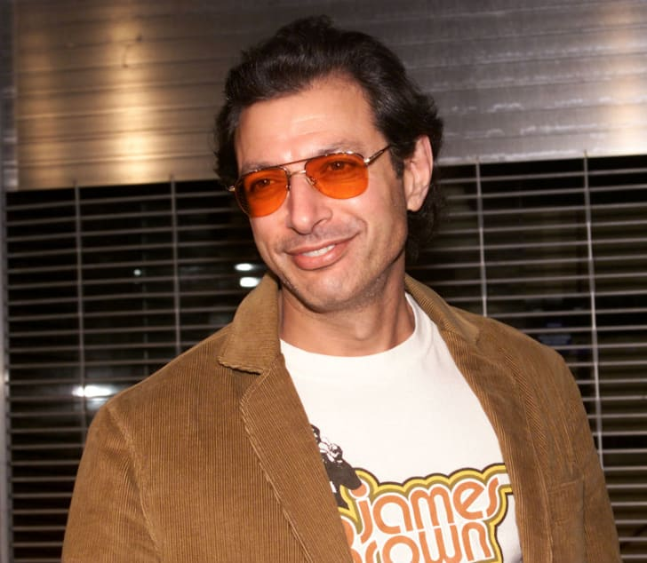 Actor Jeff Goldblum is photographed at a public appearance
