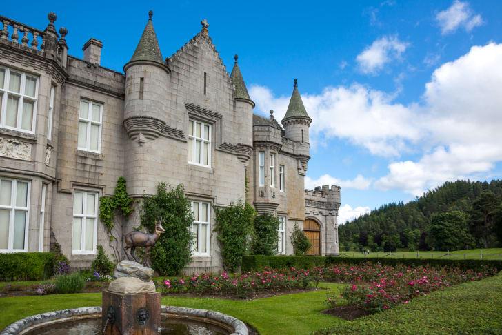 The exterior of Balmoral Castle