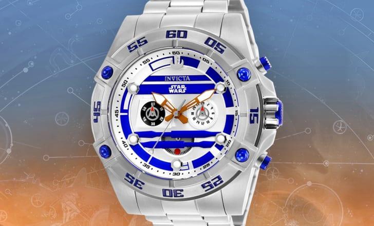 Star Wars watch.