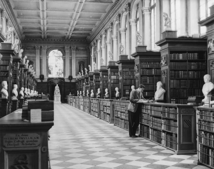 Trinity College Library, Cambridge University