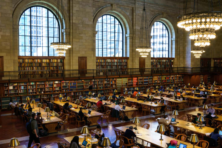 The New York Public Library Main Reading Room