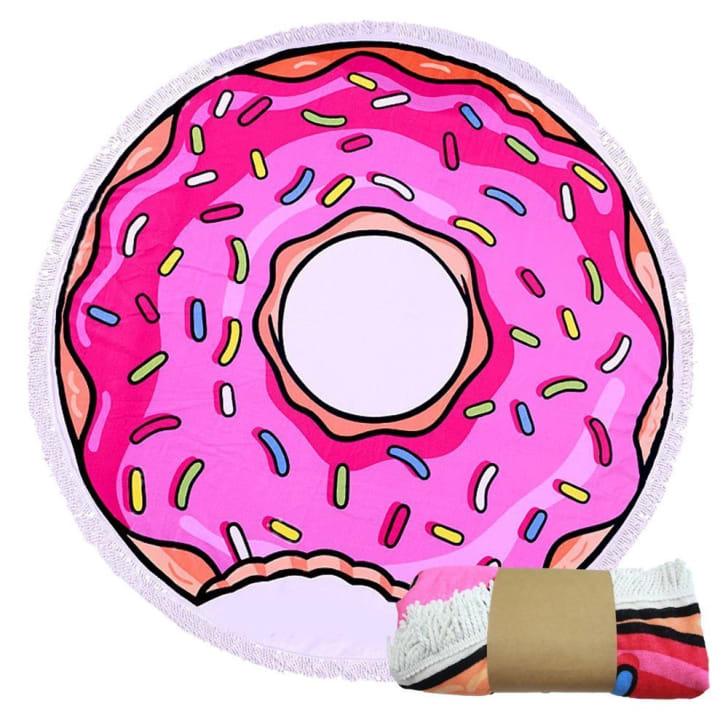 doughnut round towel
