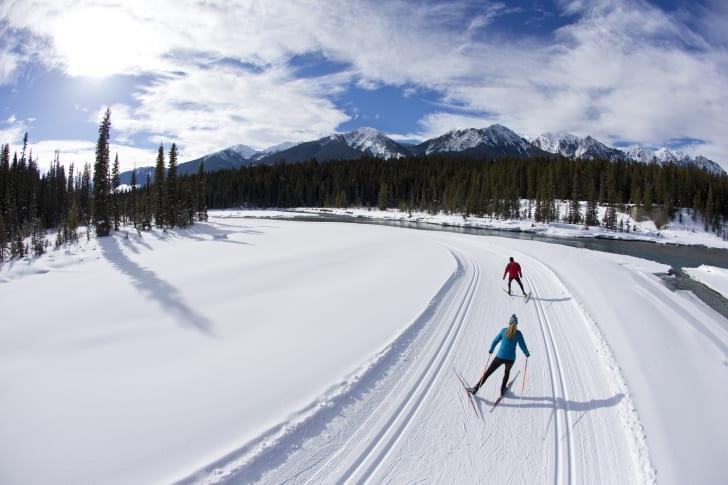 ski routes