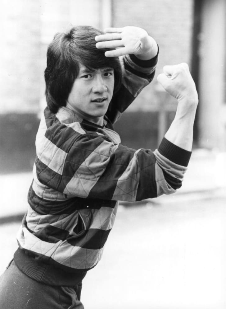 Jackie Chan poses for a publicity photo