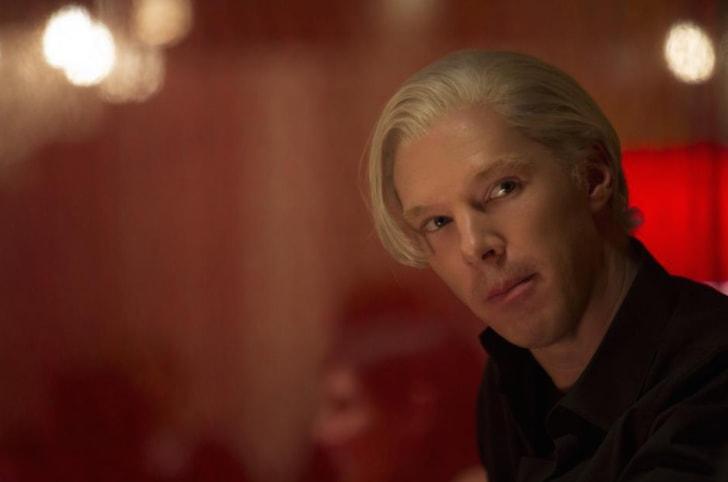 Benedict Cumberbatch as Julian Assange in 'The Fifth Estate' (2013)