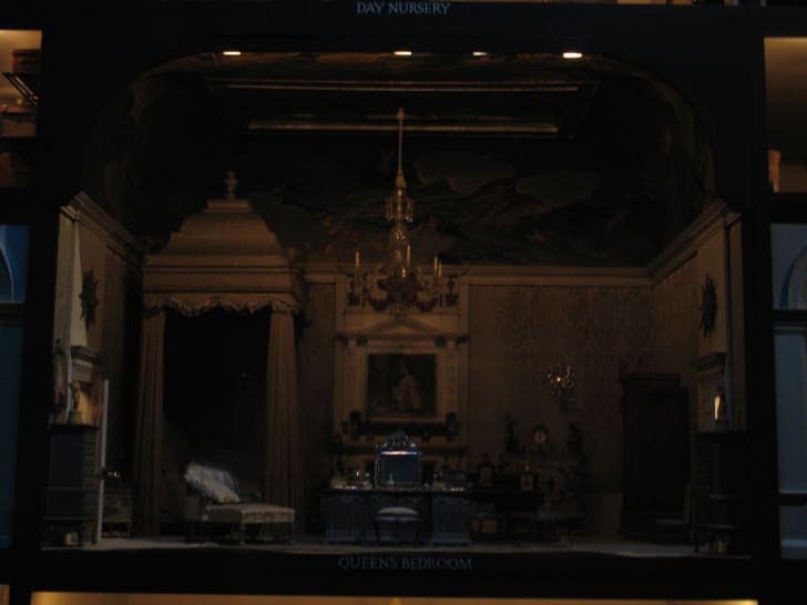Queen Mary's dollhouse at Windsor Castle