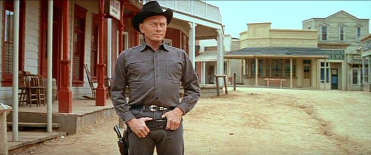 """Yul Brynner as """"The Gunslinger"""" in 'Westworld' (1973)"""