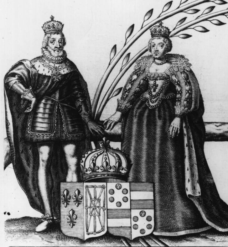 King Henry IV of France and Queen Marie de'Medici