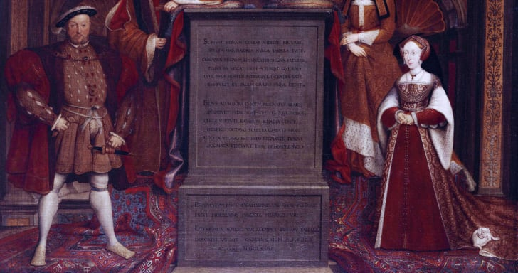 King Henry VIII and Jane Seymour