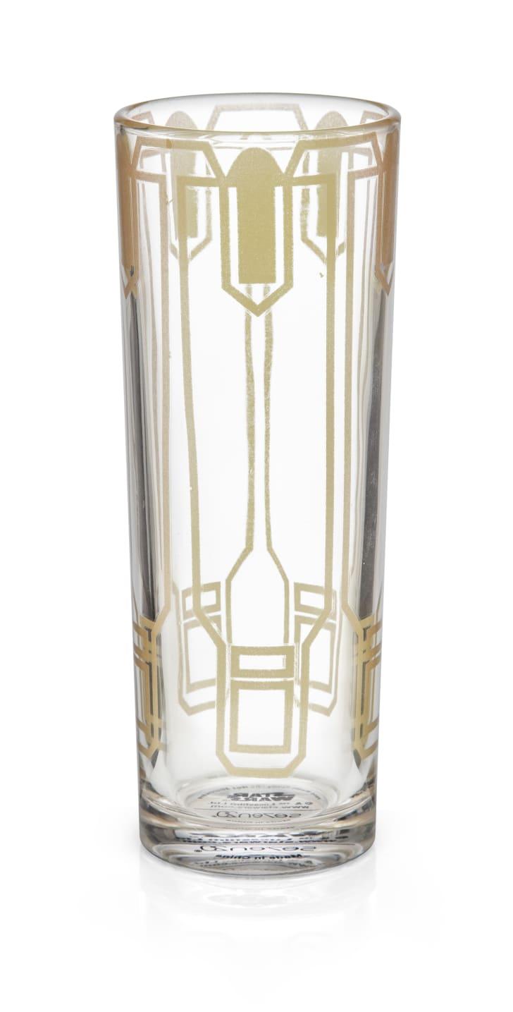 Solo-themed highball glass