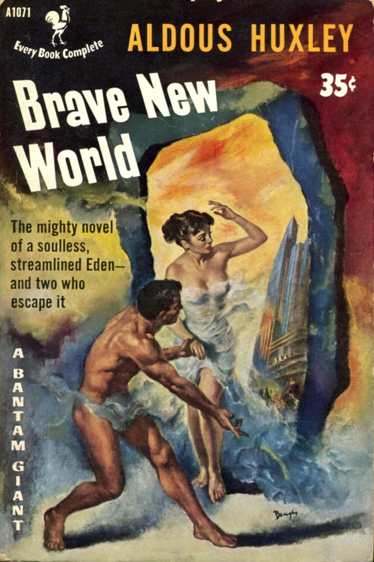 Brave New World pulp cover