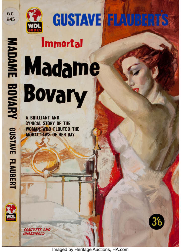 Madame Bovary pulp cover