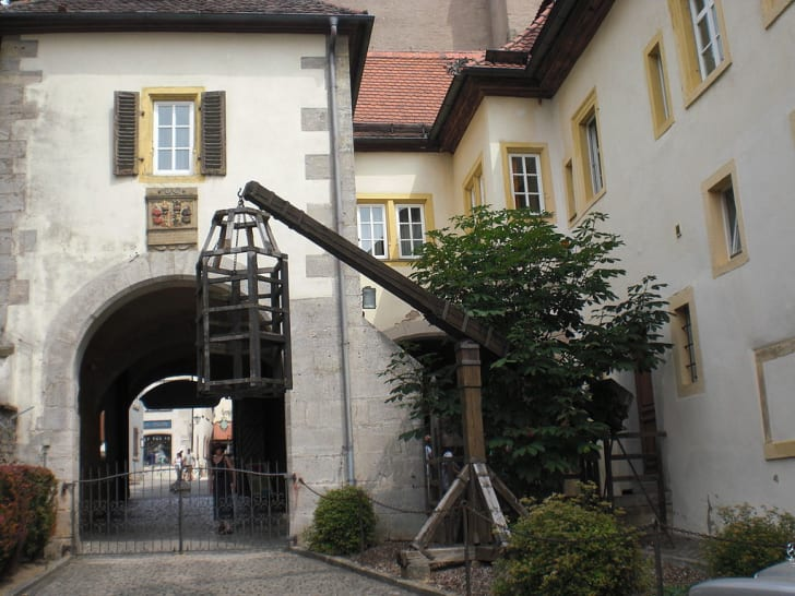 The exterior of the Medieval Crime and Justice Museum in Rothenburg