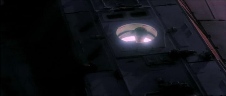 Lando puppet in Star Wars