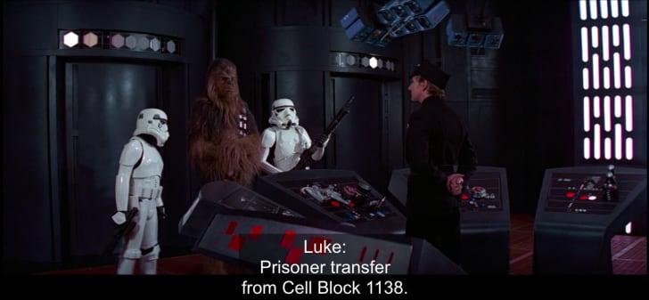 1138 in Star Wars
