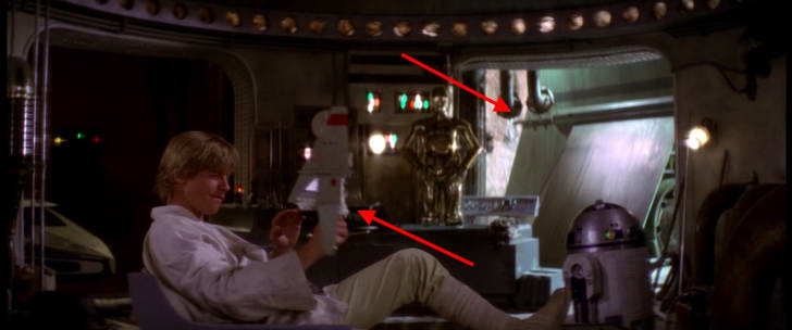 Luke's womp rat killer in Star Wars