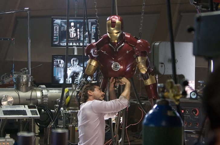 Robert Downey Jr. stars in 'Iron Man' (2008)