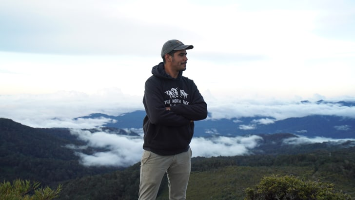 Biologist Esteban Brenes-Mora is the founder of Nia Conservation.