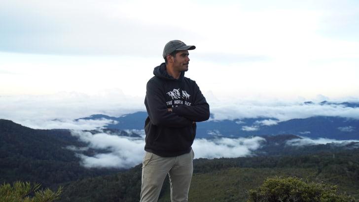 Biologist Esteban Brenes-Mora is the founder of Nia Conservation.