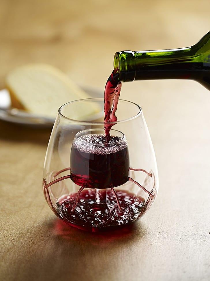 Stemless Aerating Wine Glass