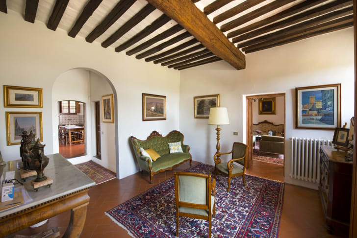 Michelangelo's Tuscan farmhouse is on the market in Italy
