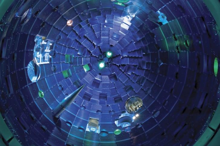 National Ignition Facility (NIF) target chamber