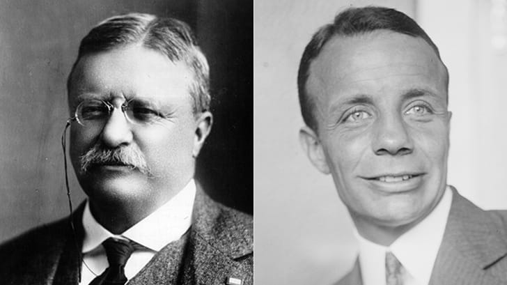 THEODORE ROOSEVELT AND THEODORE ROOSEVELT JR.