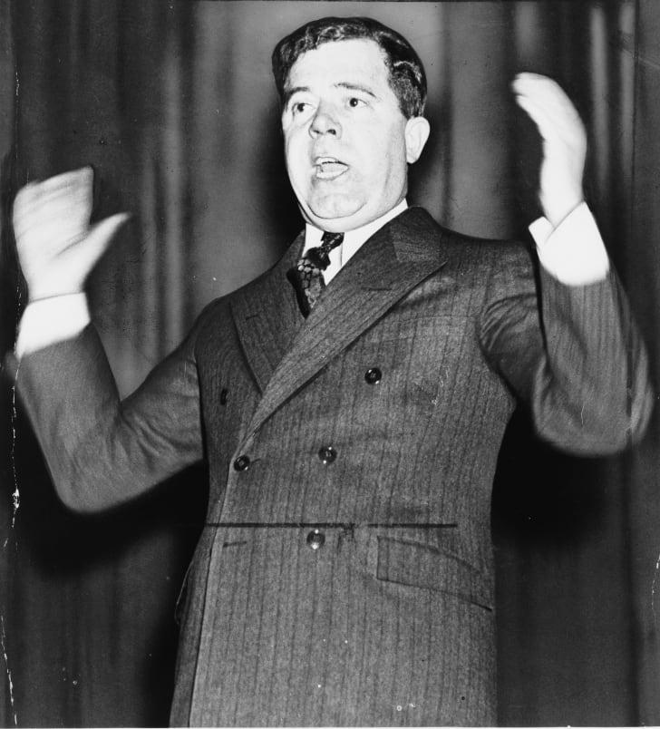 Senator Huey P. Long of Louisiana
