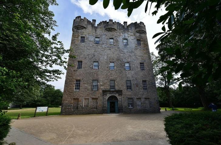 Alloa tower in Scotland