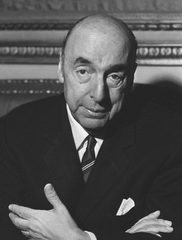portrait of Pablo Neruda