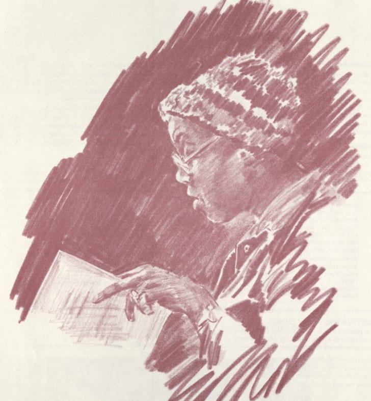 sketch of Gwendolyn Brooks