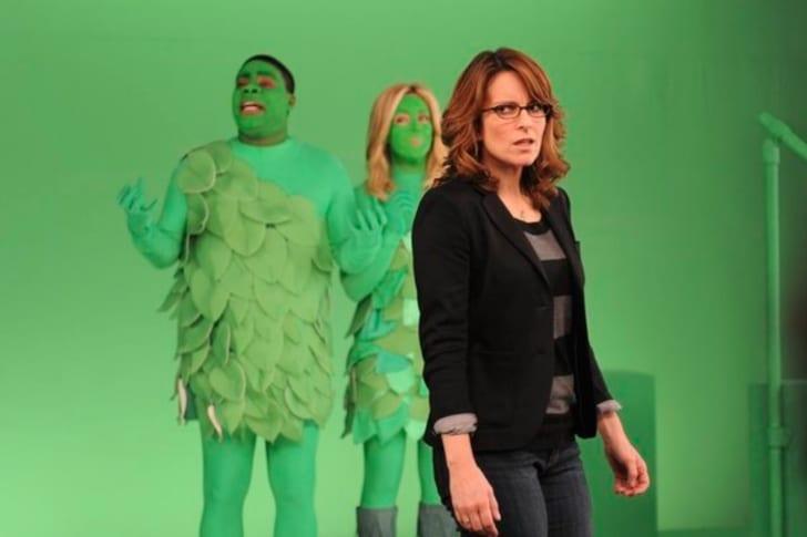 Tina Fey, Tracy Morgan, and Jane Krakowski in '30 Rock'