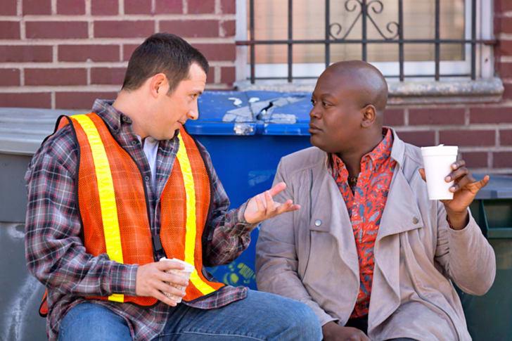 Mike Carlsen and Tituss Burgess in 'Unbreakable Kimmy Schmidt'