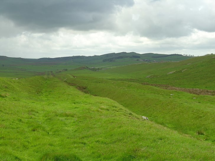 Vallum at Hadrian's Wall