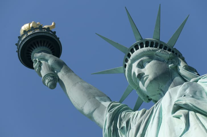 An image of the Statue of Liberty