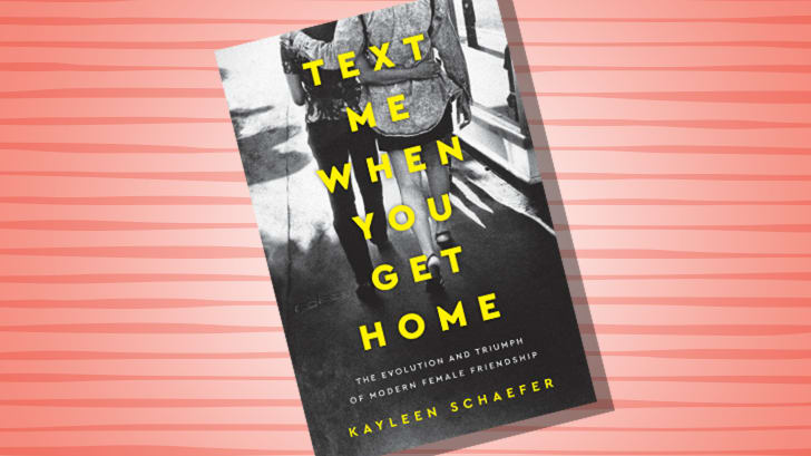 TEXT ME WHEN YOU GET HOME, KAYLEEN SCHAEFER