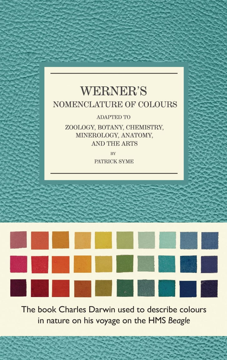 The cover of the reissue of Werner's Nomenclature of Colours