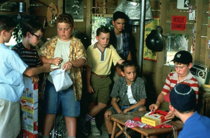 The cast of 'The Sandlot' (1993)