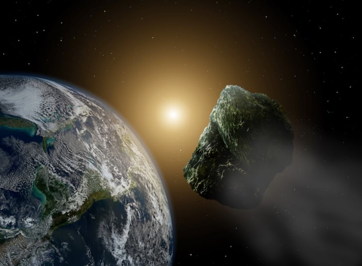 asteroid projection image